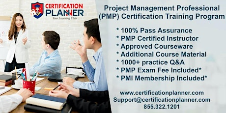 Project Management Professional PMP Certification Training in Guadalupe entradas