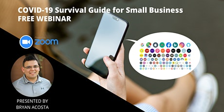 COVID-19 Survival Guide for Small Business Webinar tickets