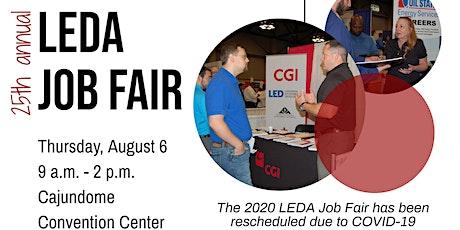 25th Annual LEDA Job Fair tickets
