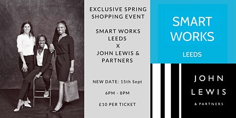Exclusive Spring Shopping Event - Smart Works Leeds tickets