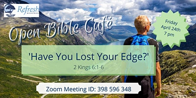 April 2020 Open Bible Café