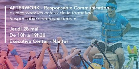 Découvrez les enjeux de la formation Responsable Communication ! billets