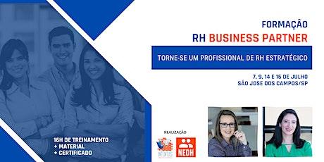 Formação em RH Business Partner | São José dos Campos ingressos