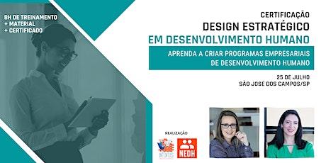 Design Estratégico em Desenvolvimento Humano | SJC ingressos