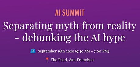 AI Summit - Separating Myth From Reality tickets