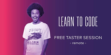 Free Remote Coding Taster  Session with _nology - 08/04/20 tickets