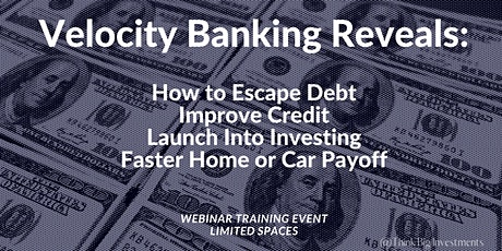 Learn How to REDUCE your DEBT and Pay LESS in Interest tickets