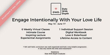 Date With Depth: Engage Intentionally With Your Love Life tickets