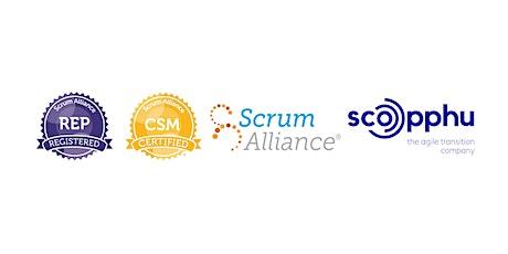 LIVE ONLINE | CSM® Certified ScrumMaster - in English bilhetes