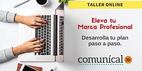 Eleva tu Marca Profesional (Taller Online) entradas