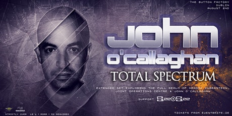 John O'Callaghan [Total Spectrum] at Button Factory