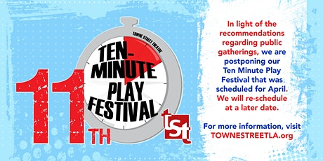 Towne Street Theater Presents: 11th Annual 10 Min Play Festival tickets