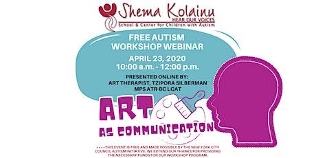 Autism Workshop: Art as Communication tickets