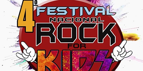 4o Festival Nacional Rock for Kids - Lote Especial de Quarentena  ingressos