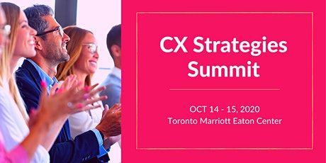 Customer Experience Strategies Summit tickets