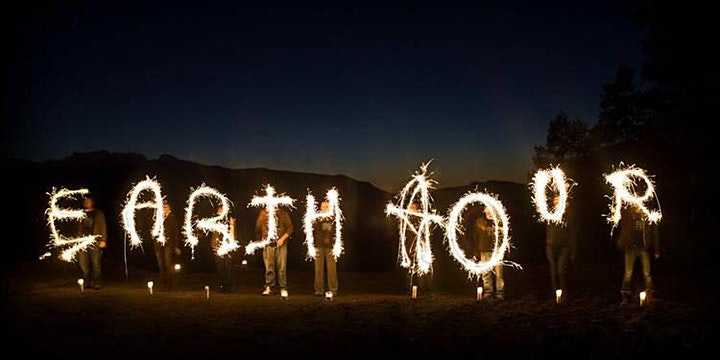 #EarthHour Candlelit storytelling  with The Shadow Travellers & 6heads image