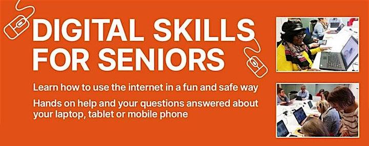 Digital Skills for Seniors (Virtual Class) image