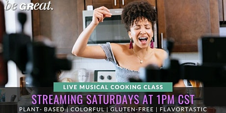 Live Streaming Musical Cooking Class with One Great Vegan  tickets
