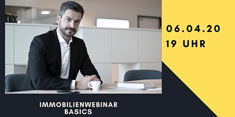 WEBINAR: Immobilieninvestments - Basics Tickets