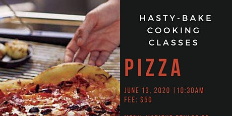 """Hasty-Bake """"Pizza"""" Cooking Class tickets"""