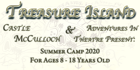 Treasure Island: 2 Week Full Day Theatre Summer Ca tickets