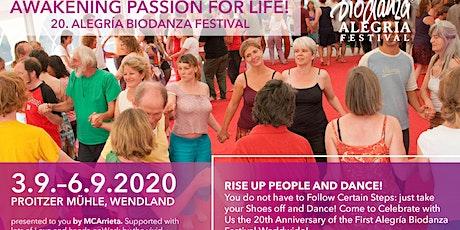 20. Alegria Biodanza Festival im Wendland Tickets