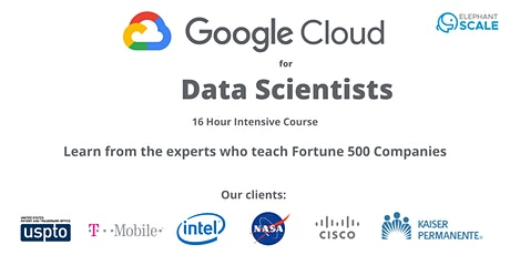 Google Cloud for Data Scientists tickets