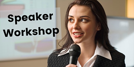 Become a confident + charismatic SPEAKER tickets