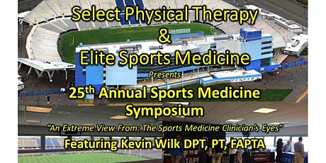 Vendor Registration - 25th Annual Sports Medicine Symposium Select Medical tickets