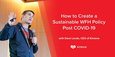 Webinar: How To Create a Sustainable WFH Policy Post COVID-19 tickets