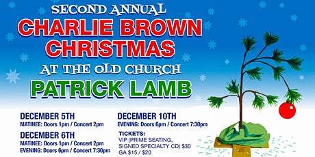 A Charlie Brown Christmas with Patrick Lamb tickets