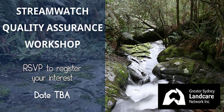 StreamWatch Quality Assurance Workshop tickets