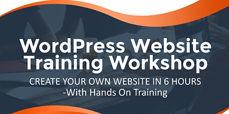 CREATE YOUR OWN WEBSITE IN 6 HOURS tickets