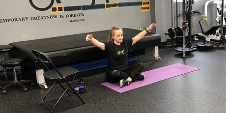 Online-Adaptive Yoga with Mighty Molly (All Abilities-45min) $15 tickets