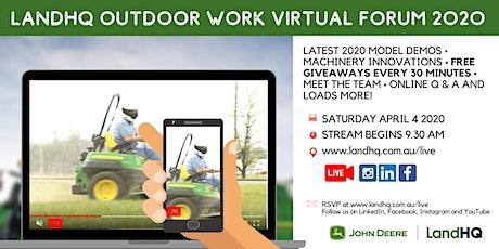 LandHQ Outdoor Virtual Work Forum 2020 tickets