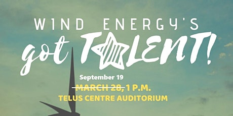 Wind Energy's Got Talent!  (Postponed to September) tickets