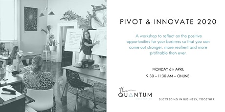 Pivot and Innovate 2020 tickets