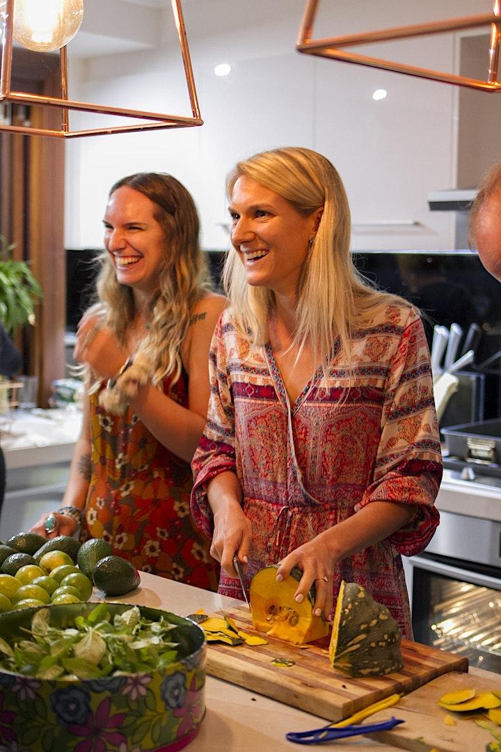 Livestream Online Vegan Cooking Class image