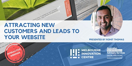 [WEBINAR] Attracting new customers and leads to your website tickets