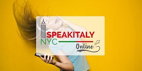 Learn Italian Through Music , Mondays 12-2PM tickets
