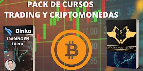 PACK 70 Cursos de Trading y Criptomonedas al precio de 1 entradas