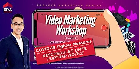 [RESCHEDULED TIL FURTHER NOTICE] Video Marketing Workshop tickets