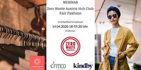 WEBINAR: Hub Club: Fair Fashion Tickets