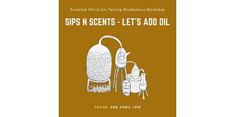Sips N Scents! Gin Cocktail, Sound Healing & Essential Oils (8 Pax ONLY) tickets