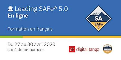 Leading SAFe® avec certification SA 5.0 - Formation en ligne billets