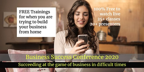 The Business Success Conference - 2020 tickets