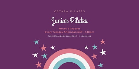 Junior Pilates in Partnership with Invisible Cities  tickets