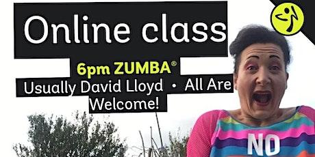 Online Zumba Weds 6pm (BST) First class free tickets