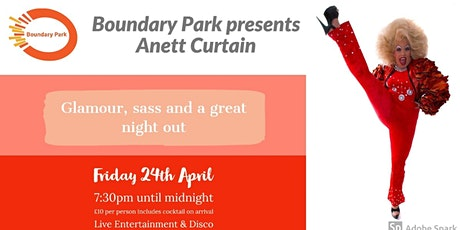 Boundary Park presents Anett Curtain tickets