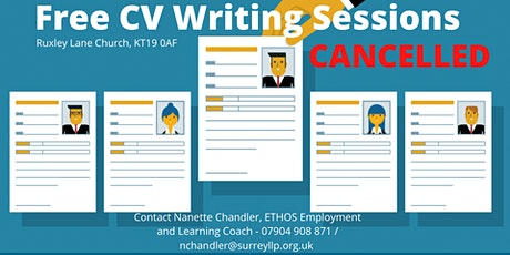 Cancelled - Free CV Writing Session tickets